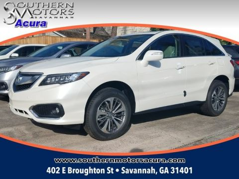 New 2018 Acura RDX With Advance Package