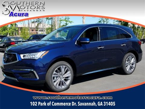 New 2018 Acura MDX With Technology Package