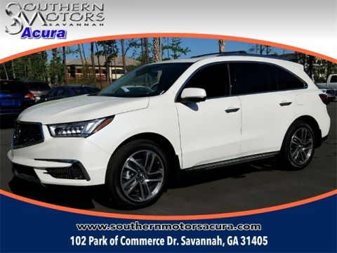 New 2018 Acura MDX With Advance Package