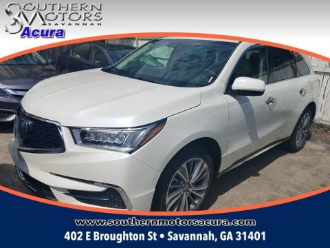 New 2017 Acura MDX SH-AWD with Technology Package